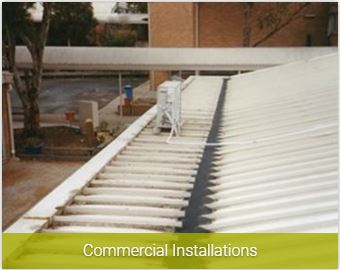 Commercial Installations of Gutter Guards