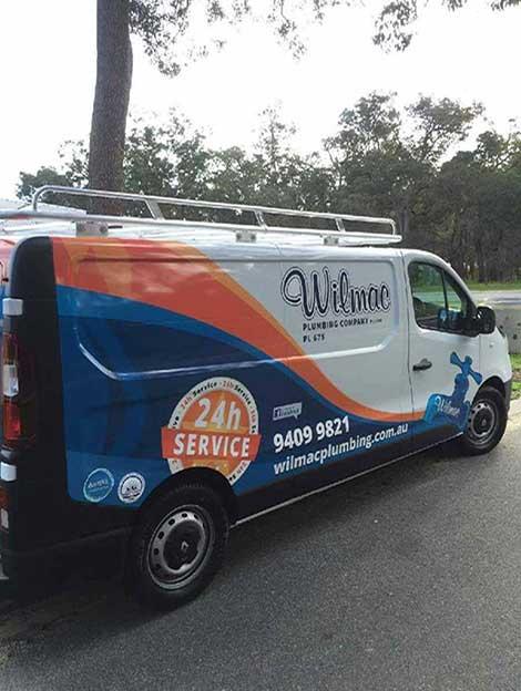 wilmac-plumbing-van