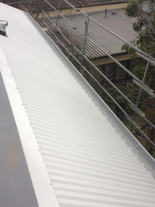New home aluminium gutter guards