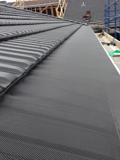 New tile roof premium aluminium gutter guards