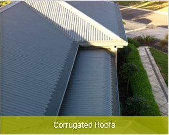 corrugated roofs gutter install