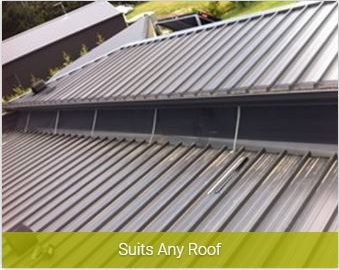 Suits any roof gutter installation